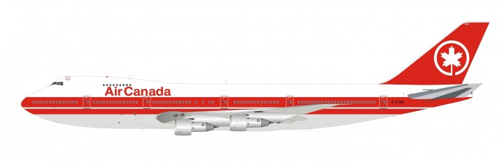 Air Canada Boeing 747-100 C-FTOC Inflight B-741-AC-0319 scale 1:20