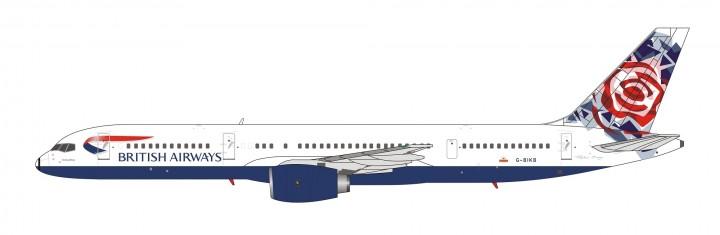 British Airways Boeing 757-200 G-BIKB Chelsea Rose NG Models 53043 scale 1400