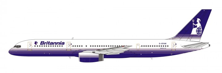 Britannia Airways Boeing 757-200 G-BYAM NG Models 53042 scale 1400