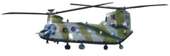 RAF HC1 Mk. I Chinook No. 18 Squadron Forces of Valor FV-821004C scale 1:72