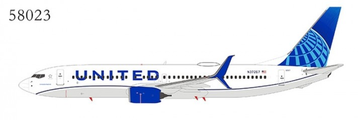 United Airlines 737-800/w N37267 new livery; with scimitar winglets NGModel NG58023