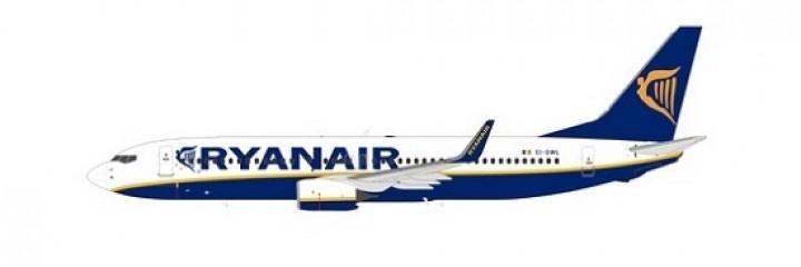Ryanair B738 Winglets EI-DWL die-cast NG models 58009 scale 1400