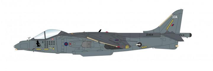British Harrier GR7A Kandahar Afghanistan Nov 2006 Hobby Master HA2623 scale 1:72