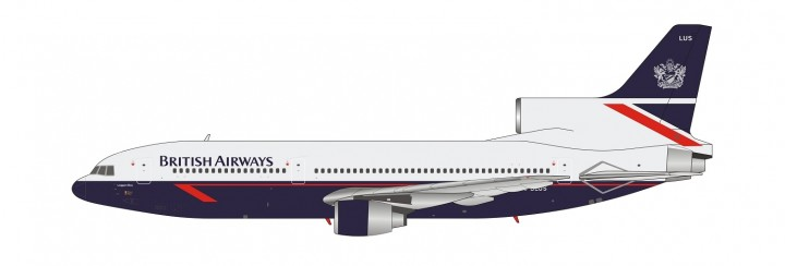 British Airways Lockheed L-1011-500 TriStar G-BLUS Landor livery NG Models 35001 scale 1:400