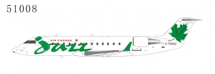 Air Canada Jazz CRJ-100ER C-FWSC Green (1:200) NG51008