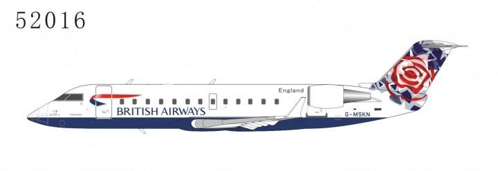 "British Airways CRJ-200LR G-MSKN ""World tail - Chelsea Rose"" Livery (1:200) NG52016"