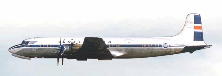 loftleidir Icelandic DC-6 TF-LLB Loftleiðir AC19157 Aeroclassics Scale 1:400