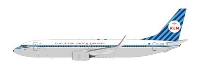 KLM  B738 Winglets PH-BXA retro livery die-cast NG models 58011 scale 1400