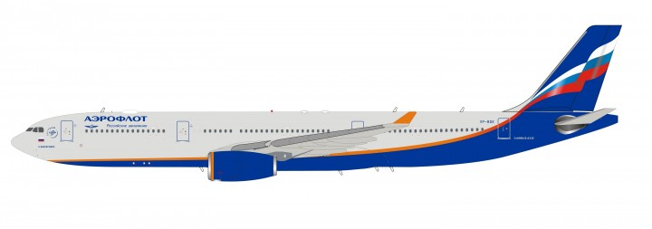 Aeroflot Airbus A330-343 VP-BDE with stand InFlight IF333SU0719 scale 1:200