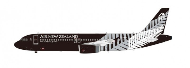 "Production has been canceled! Air New Zealand A320-200 ""All Blacks"" 1:200"