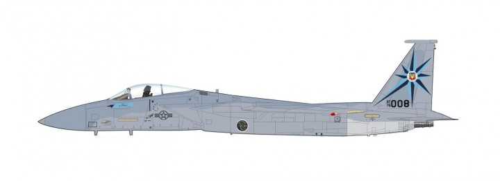 "F-15A McDonnell Douglas USAF 76-0008, 318th FIS, ""William Tell 1984"" Hobby Master HA4517 scale 1:72"