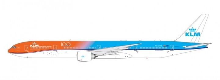 KLM Boeing 777-300ER PH-BVA Orange Pride 100 Years Phoenix 11563 scale 1:400