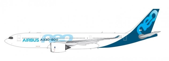 New Mould! Airbus House A330-800neo F-WTTO die-cast Phoenix 11555 scale 1:400