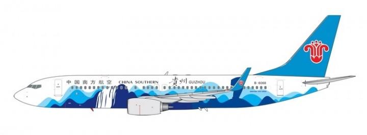 China Southern Boeing 737-800 Guizhou B-6068 中国南方航空 die-cast model Phoenix 11552 scale 1:400