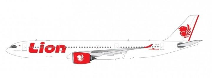 Lion Air A330-900neo PK-LEI die-cast Phoenix 11560 scale 1:400