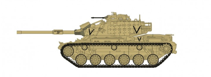 "M60A1 Patton Tank U.S. Marines ""Operation Desert Storm"" Hobby Master HG5606 scale 1:72"
