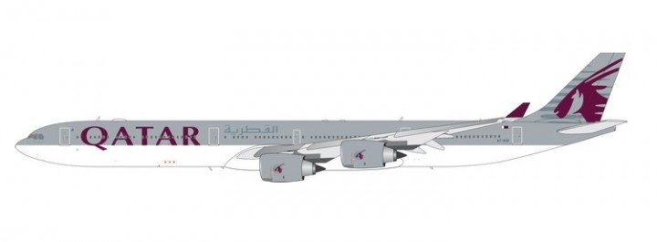 Qatar Airbus A340-600 A7-AGD Phoenix 11561 diecast model scale 1:400