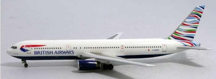 Aviation Models British Airways 767-300 Usa Tail