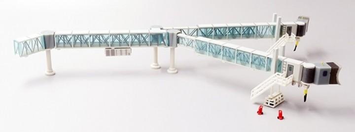 Boarding Bridge Wide Body set with 1 JCWings LH2BDG148 scale 1:200