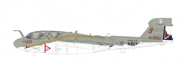 "EA-6B Prowler VAQ-134 U.S. Navy ""Farewell Scheme"" Hobby Master HA5007 scale 1:72"