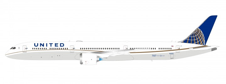 New IF Mould! United Boeing 787-10 N14001 Inflight IF7810UA0919 w/stand scale 1:200