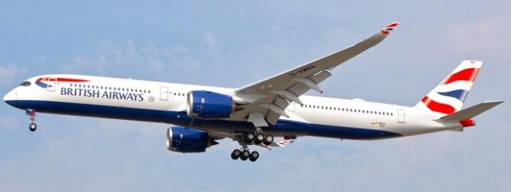 British Airways Airbus A350-1000 G-XWBA die-cast Phoenix 04282 scale 1:400