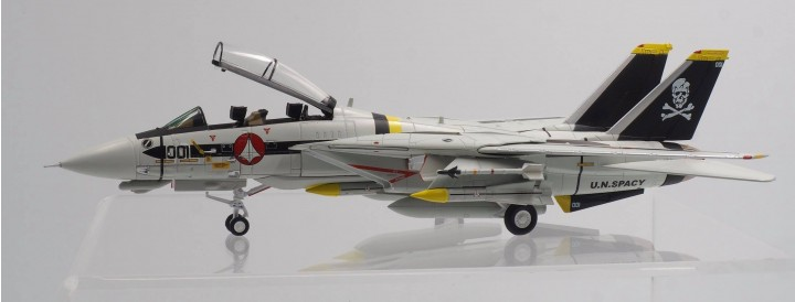 Robotech F-14 S Type Jolly Rogers Science Fiction die-cast Calibre Wings CA72RB02 Scale 1:72