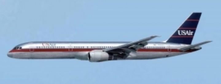 US Air  Boeing 757-200  N602AU  AC419468 die-cast AeroClassics scale 1:400