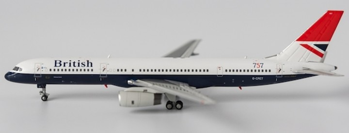 "Negus British Airways Boeing 757-200 G-CPET ""Stokesay castle"" NG 53029 1:400"