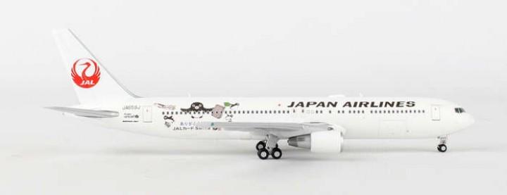 """JAL Boeing 767-300ER Reg# JA6591 """"Suica Penguin"""" JC JC4JAL719 1:400"""