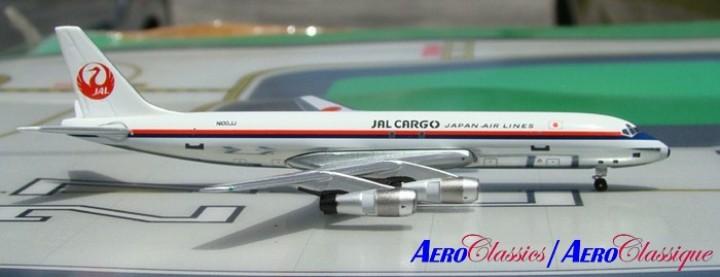 Rare: JAL Cargo DC-8-55F  NIOOJJ  Scale 1:400