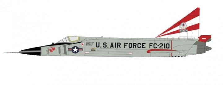 USAF F-102 Delta Dagger 526th FIS Ramstein AFB Germany 1963 Hobby Master HA3113 scale 1:72