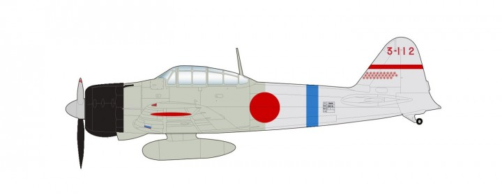 A6M2 Zero Lt Minoru Suzuki 12th Kokutai China 1941 HA8806 Hobby Master Scale 1:48