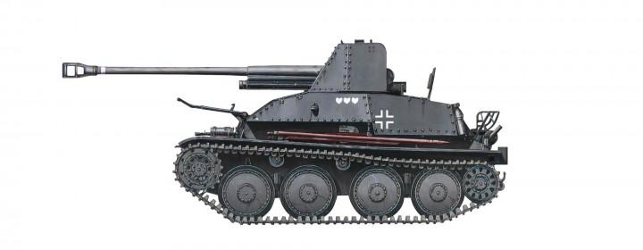 German Tank Marder III Destroyer Stalingrad 1943 Hobby Master HG4109 scale 1:72