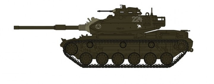 M60A1 Patton Tank Austrian Army Hobby Master HG5603 Scale 1:72