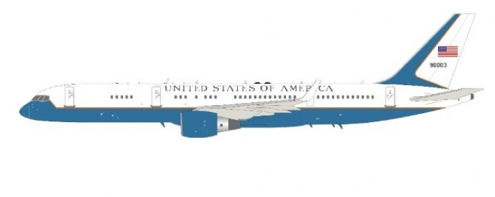 USAF Boeing C-32A B757-200 with stand  98-0003 InFlight IFC32USA01 scale 1:200