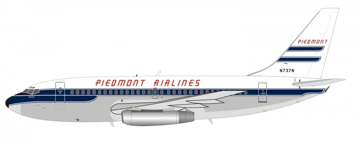 Piedmont Boeing 737-200 N737N With Stand Inflight IF732PT1118 scale 1:200