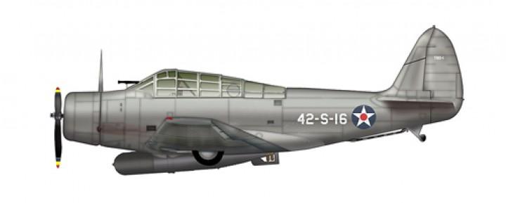 United States Navy (USN) TBD-1 Devastator 42-S-16, VS-42, USS Ranger, May 1941 SkyMax Models SM8006 Scale 1:72