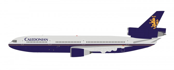 Caledonian Airways Douglas DC-10-30 G-BHDH InFlight IFDC10CA0219 scale 1:200