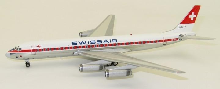 Swissair DC-8-62 HB-IDI B-Models/InFlight B-862-HB-0318P scale 1:200