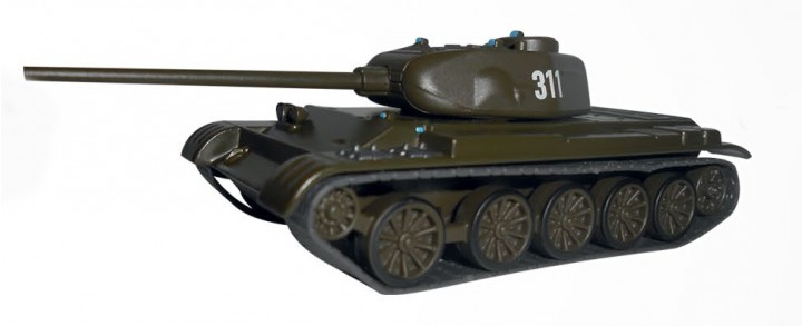 T-44 Battle Tank Eaglemoss EM-CV018 Scale 1:72