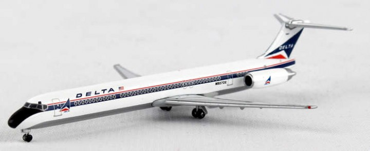 Delta Air Lines McDonnell Douglas MD-88 HE527880 Scale 1:500
