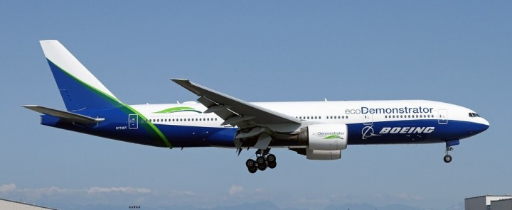 Eco Demo Livery Boeing House 777-200 N772ET JC Wings JC2BOE320 scale 1:200