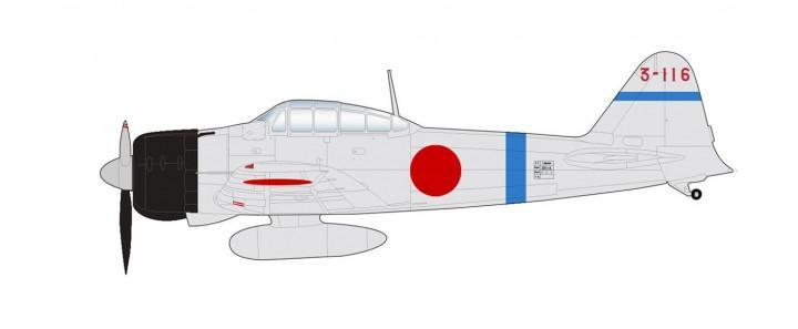 A6M2 Zero Fighter Type II Japan 3-116 Saburo Sakai 12th Kokutai 1940 to 1941 HA8807 Hobby Master Scale 1:48