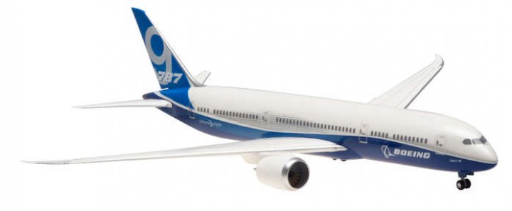 Boeing House 787-9 Ground configuration w/Gears HG0397G 1:200