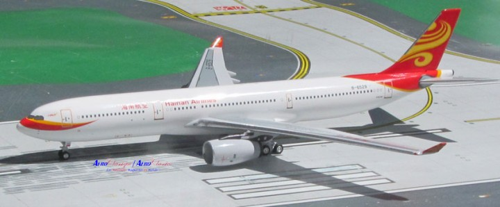 Hainan Airlines Airbus A330-300 海南航空公司 Registration B-6529 Scale 1:400