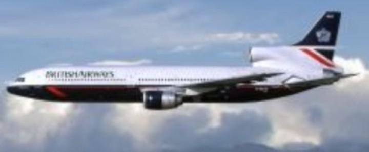 British Airways Landor livery Lockheed L-1011 TriStar G-BBAG by Lockness Models LM419570 scale 1:400
