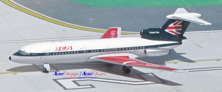 BEA British Trident Reg# G-AVFO Aeroclassics Die cast Scale 1:400
