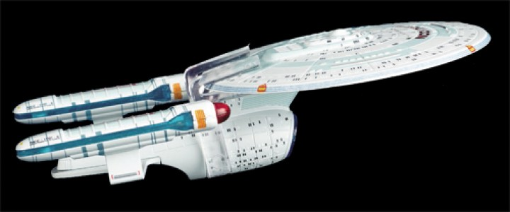 U.S.S Enterprise NCC-1701-C Star Trek Universe EagleMoss Die-Cast EM-ST0046