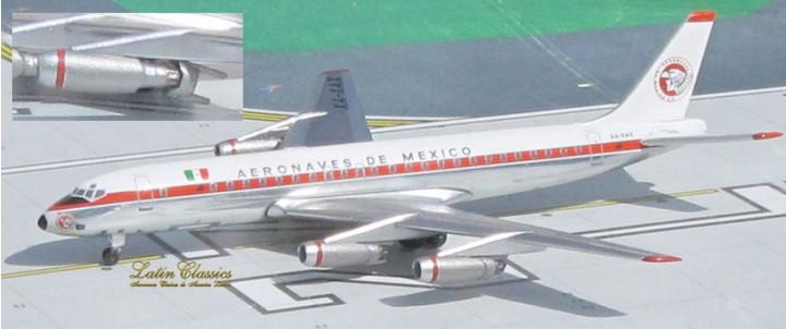 Aeronaves de Mexico DC-8-21 (Aeromexico) Reg# XA-XAX Aero Classic Scale 1:400